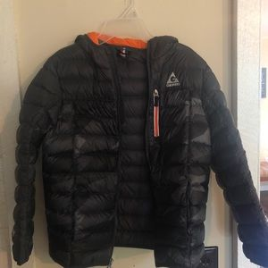 Black Gerry puffer jacket
